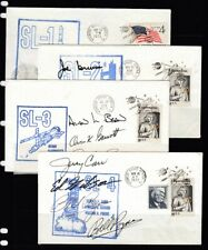 Space Shuttle SL1-SL4 with autograph cachets - NICE!!!