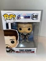 Funko Pop! Marvel-Avengers Endgame-Tony Stark (Quantum Suit) #449 With Protector