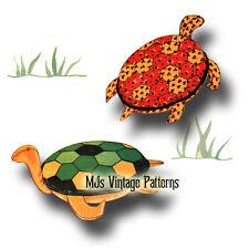 Stuffed Turtle ~ a Vintage 1930s Pattern