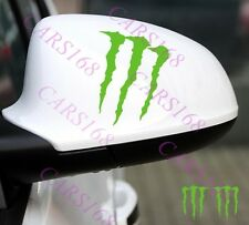 A Pair Monster ☆☆Claw☆☆ Car Rearview Mirror Sticker Vinyl For BMW Audi Ford ETC