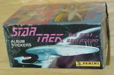 Star Trek The Next Generation Panini album stickers factory sealed box