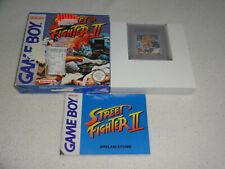 Street Fighter II Game Boy Spiel komplett mit OVP und Anleitung
