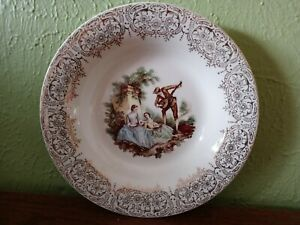 China d'Or by Limoges American Triumph IT-S 2848 Warranted 22K Gold Cereal Bowl