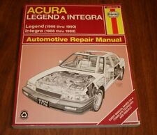 HAYNES ACURA LEGEND & INTEGRA 1986 THRU 1990 REPAIR MANUAL 12020