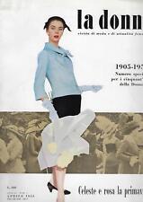 Rivista Magazine La Donna Numero Speciale  50 anni Aprile 1955 Rizzoli
