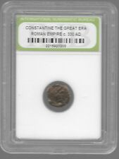 Rare Old Ancient Antique CONSTANTINE GREAT Roman Empire Invest War Coin AB112