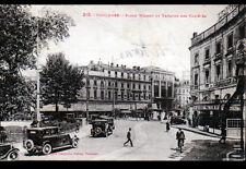 """TOULOUSE (31) RESTAURANT """"POULE D'OR"""" & THEATRE animé en 1933"""