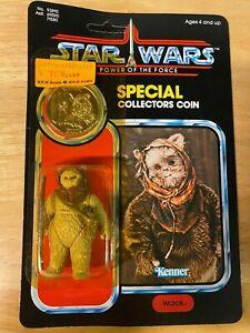 Star Wars POTF Warok Figure - 1984 Kenner 92-Back - MOC Unopened Unpunched