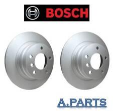 Bosch 2x Disques De Frein ø 296 plein Essieu arrière Bmw 1er e87 e81/3er e90 e92