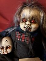 Sinisterly Sissy's 'Johnny Boy' ,Spooky,Creepy,Haunted,Goth,20 inches