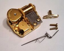 "Sankyo 18 Note Movement With Reuge Wire Stopper-""Madame Butterfly"""