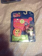 Littlest Pet Shop Lps 1628 Pink Purple Cat Green Eyes Brand New In Packaging