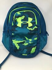 NEW Under Armour Scrimmage Storm Backpack Teal Rush Camo