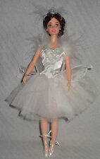 Barbie Ballerina Ballet White Sparkle Tutu Swan Lake Ballet