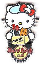 Hard Rock Cafe FUKUOKA 2013 Hello Kitty World Series #10 Pin LE100 FRANCE