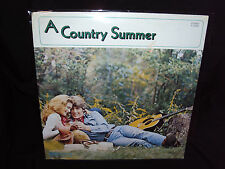 A COUNTRY SUMMER 1974 COMPILATION VINYL LP COLLECTORS! SEALED MINT! GEORGE JONES
