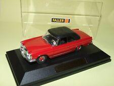 MERCEDES 280 SE 3.5 COUPE W111 E35 1969-1971 Rouge FALLER boite non d'origine