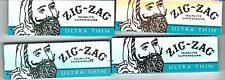 ZIG ZAG ULTRA THIN CIGARETTE ROLLING PAPERS 1 1/4  78MM