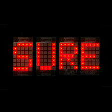"1.8"" 5X7 Red LED Dot Matrix Unit Display Board 2pcs"
