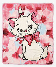 "Disney Aristocats Floral Marie Silk Touch Soft Plush Throw Blanket 50""x60"""