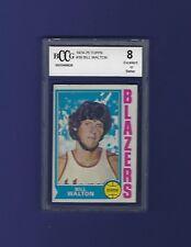 1974 Topps #39 Bill Walton Rookie Card BGS/BCCG 8