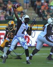 Henry Burris Ottawa Redblacks Football CFL signed 8x10 photo #3 proof w/COA