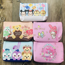 mickey rabbit Pu handbag zip makeup bag travel ourdoor unisex bags new