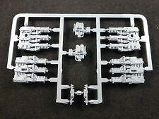 40K Space Marine Land Raider Crusader Left + Right Hurricane Bolters (Pair)
