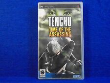 psp TENCHU Time Of The Assassin's Game RARE PAL UK REGION FREE Assassins