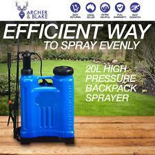 Backpack Sprayer Garden Weed Back Pack Spray Farm Weeds Killer 20L New