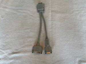 Genuine Apple 590-0703-A Vintage Y Cable IIe Card Y-Cable Original Excellent