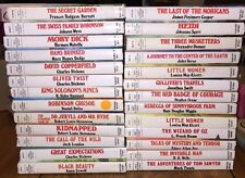Great Illustrated Classics 28 Books Lot Set HC HOME SCHOOLING KIDS CHILDREN BOOK
