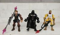 Star Wars hero mashers Bundle x 3 Vader, Anakin, Bossk figures