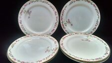 "6 Haviland Limoges ""The Amstel"" Pattern 8 1/2"" Luncheon Plates Schleiger #497a"