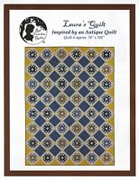 LAURA'S QUILT QUILT PATTERN, from Red Crinoline/Bonnie Blue Quilts, *NEW*