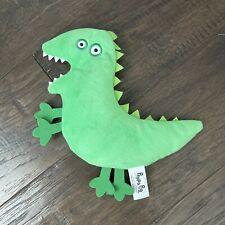 "Peppa Pig Green Dinosaur Plush 7.5"" Stuffed Animal Toy"