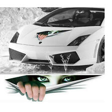 3D Peeking Monster Scary Eyes Sticker Funny Vinyl Decal For Car Vehicle Window