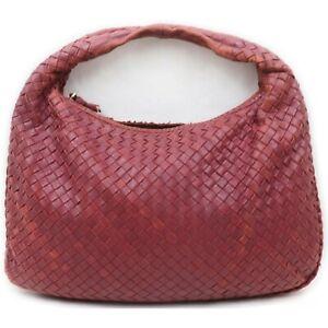 Bottega Veneta Hobo  Bordeaux Leather 1214610