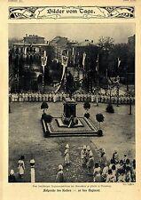 Zum 200jähr.Regimentsjubiläum der Grenadiere zu Pferde in Bromberg c.1904