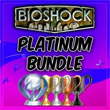 🔥 All Bioshock's Platinum Trophy Service 2, Infinite +More PSN/PS3/PS4/VITA 🔥