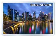 SINGAPORE MOD3 FRIDGE MAGNET SOUVENIR IMAN NEVERA