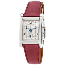 Bedat No. 7 Silver Dial Chronograph Leather Mens Watch 778.010.610