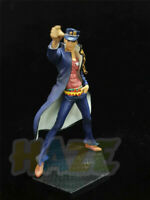 Anime JoJo's Bizarre Adventure Kujo Jotaro PVC Figure Statue Toy Collection New