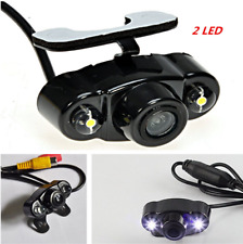 170° 2 LED Waterproof Reverse Backup Car Rear View Night Vision Parking Camera