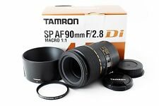 Tamron SP AF 90mm f/2.8 Di 272EE for Canon w/Box [Near Mint] from Japan n37