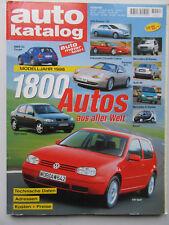 Autokatalog - Modelljahr 1998 Nr 41