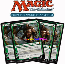 MTG 4 X GARRUK RELENTLESS -FOIL- Garruk implacable - FTV: Transform ENGLISH