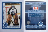 2015 SCA Jim Rutherford Toronto Maple Leafs goalie never issued produced #d/10