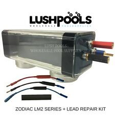 ZODIAC LM2-40 CLEARWATER 40amp GENERIC CHLORINATOR CELL + LEAD REPAIR KIT