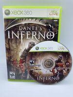 Dante's Inferno (Microsoft Xbox 360, 2010) Rare Video Game